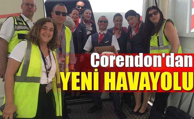 Corendon Avrupa'da yeni bir havayolu daha kurdu