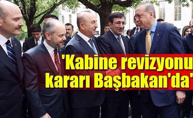 """Erdoğan'dan """"Kabine Revizyonu"""" sorusuna yanıt"""