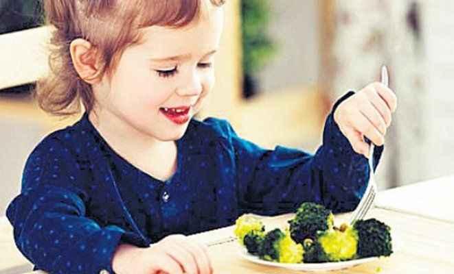 Brokoli yiyen çocuk derste daha başarılı
