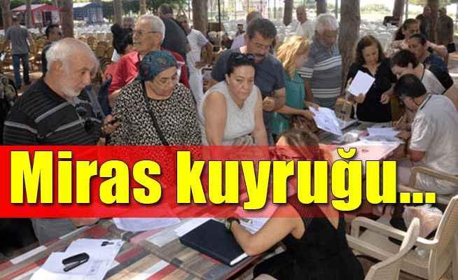Antalya'da bini aşkın mirasçı milyarlık arazilerin peşine düştü