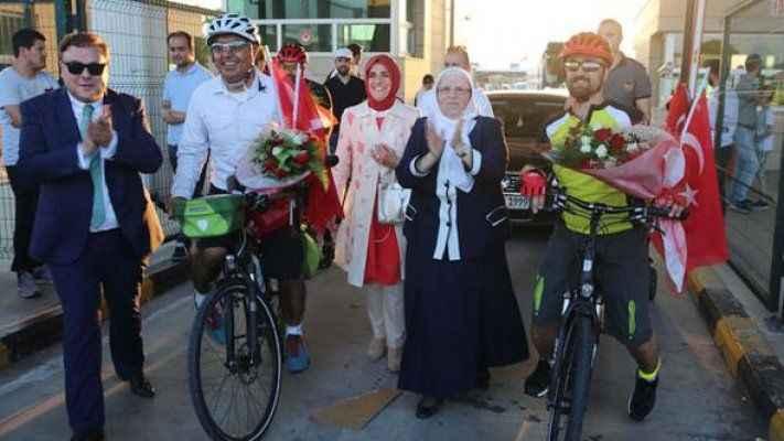 15 Temmuz şehitleri anısına Beştepe'ye kadar gidecekler