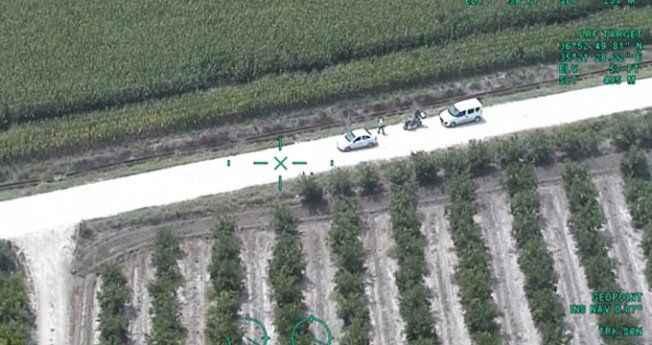 Dev mısırların arasında kaybolan polis karşılaştığı manzara ile şok oldu!