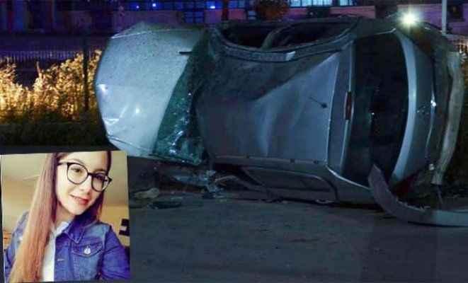 Otomobil takla attı: Liseli kız öldü, 3 yaralı