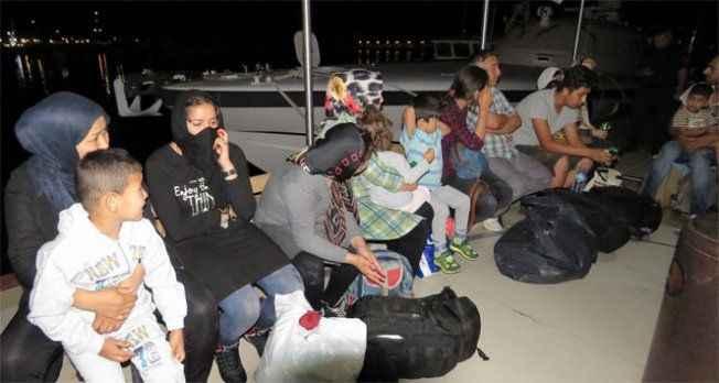 60 kaçak göçmen yakalandı