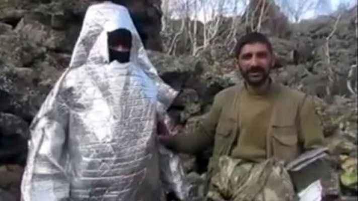 Abdullah Ağar sosyal medyadan paylaştı! Teröristlerden ilginç taktik: Uzaylı PKK'lı