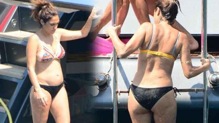 Zuhal Topal bikinili böyle yakalandı!