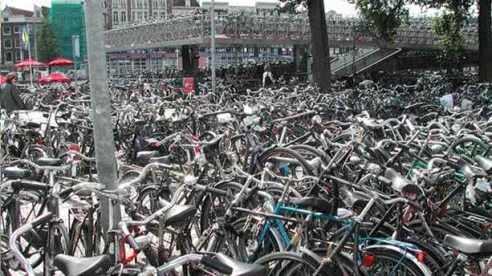 12 bin 500 bisiklet aynı anda park edebilecek