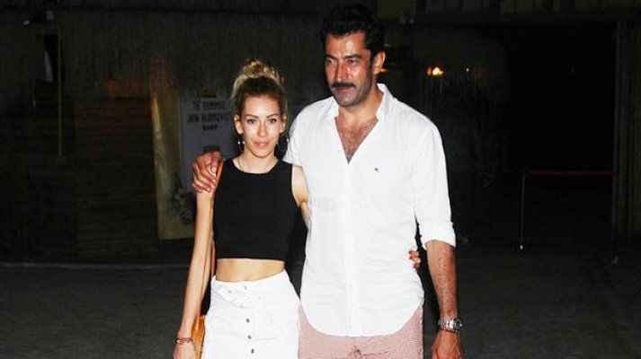 Kenan İmirzalıoğlu-Sinem Kobal çifti tatilde