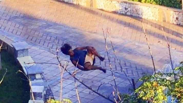 Marmaris'teki gençten tehlikeli şov