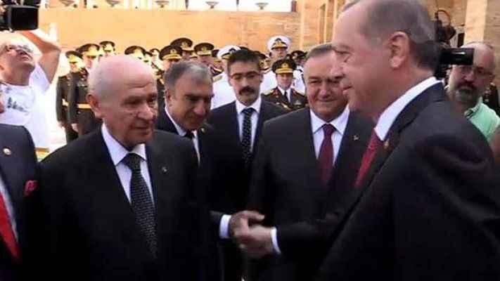 Son dakika... Erdoğan ile Bahçeli'nin sıcak sohbeti