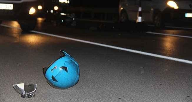 Ters yola giren traktör motosiklete çarptı: 1 ölü