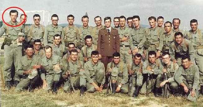 Cumhurbaşkanı Erdoğan'ın yıllar sonra ortaya çıkan askerlik fotoğrafı