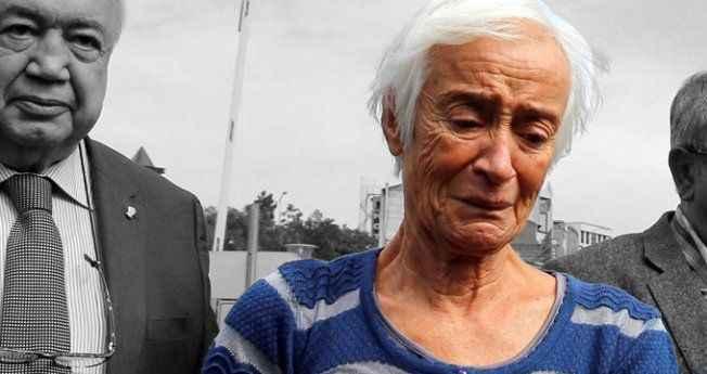Hastaneye gelen Baykal'ın eşi ağlamaktan konuşmadı