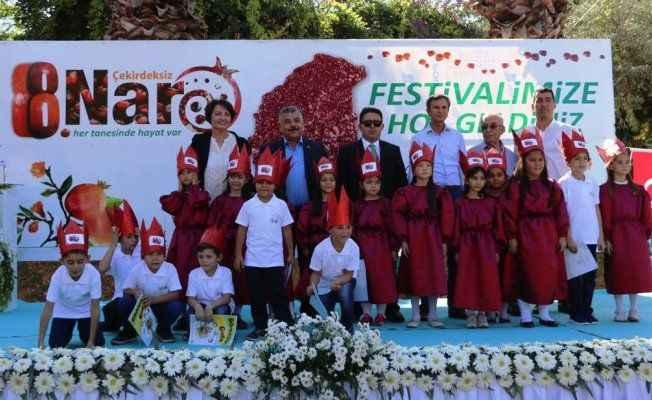 'Çekirdeksiz Nar'ın festivali başladı