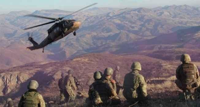 Operasyonda 3 terörist öldürüldü