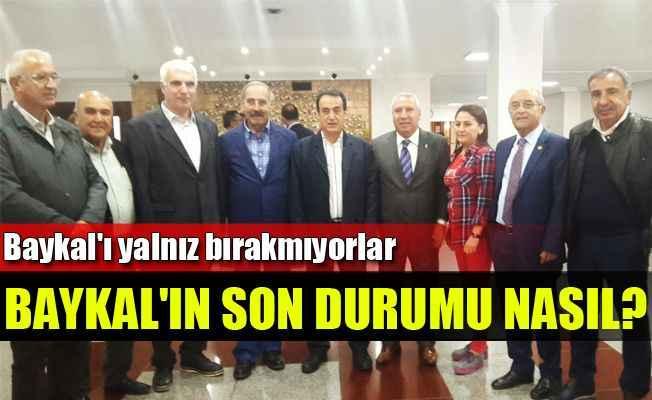 Ankara'da Baykal nöbeti