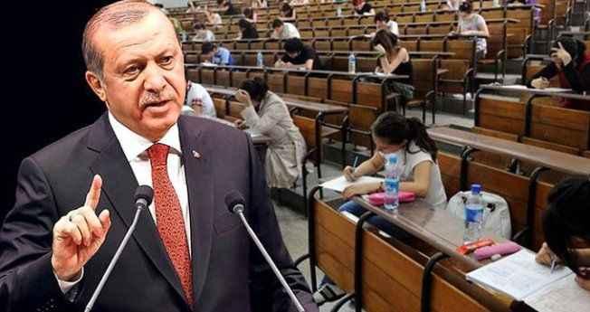 Erdoğan, YKS'yi mercek altına aldı! YÖK'e 4 kritik talimat verdi