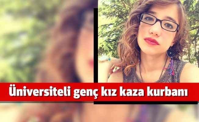 Antalya'da trafik kazası genç kızı hayattan kopardı