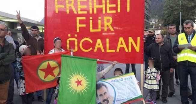 Arka arkaya rezalet görüntüler! PKK sokağa dökülüyor, Avrupa izliyor