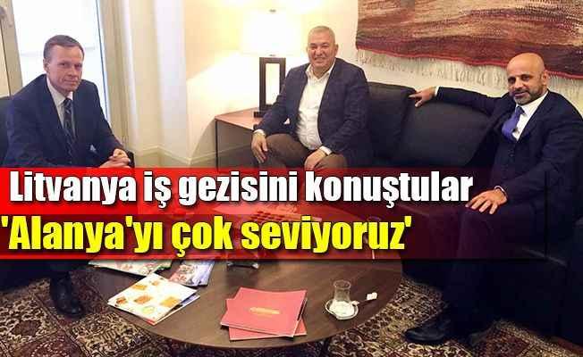 ALTSO Başkanı Şahin'den Litvanya Büyükelçisi'ne ziyaret