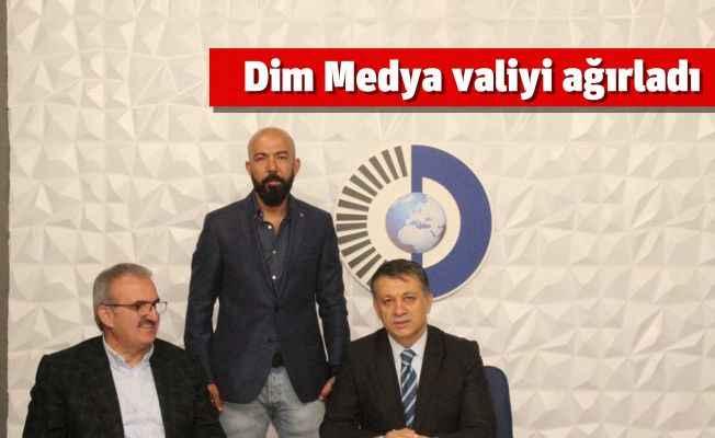 Dim Medya Vali Karaloğlu'nu ağırladı