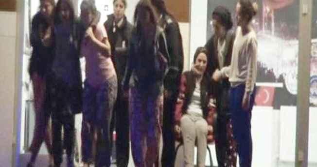 Görenler bayıldı! Arapça konuşan saldırgan, kız yurdunu karıştırdı