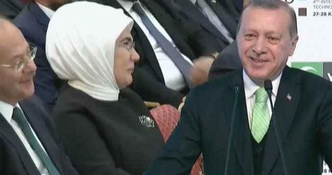 Erdoğan'ın torun hikayesi, First Lady'i güldürdü