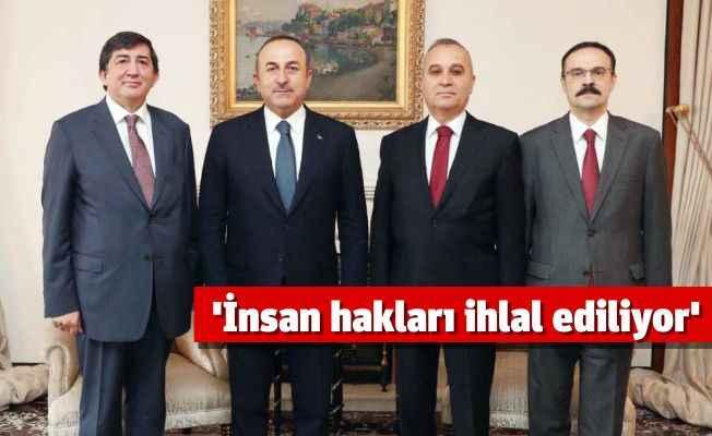 Bakan Çavuşoğlu'ndan 'İnsan Hakları' mesajı