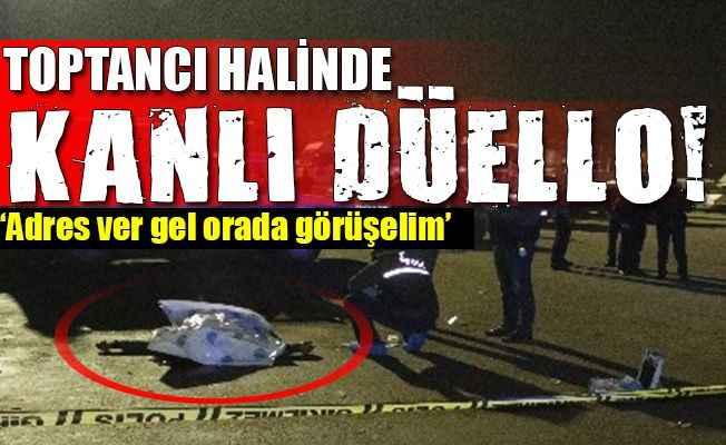Antalya'da halde düello kanlı bitti: 1 ölü