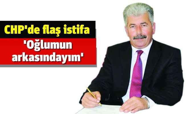 Ali Çelik Alanya CHP'den istifa etti