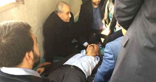 Camide fenalaşan vatandaşın imdadına Bakan Fakıbaba yetişti