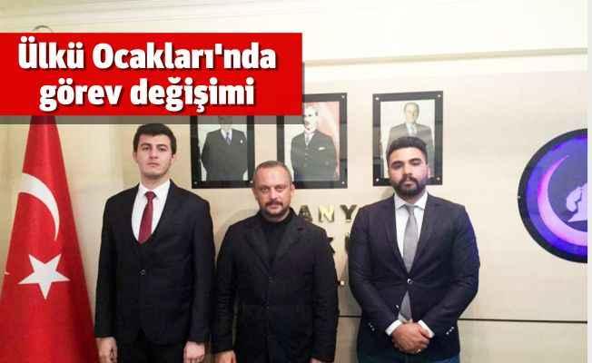 Ülkü Ocakları'nda Sami Burak Cengiz görevi devraldı