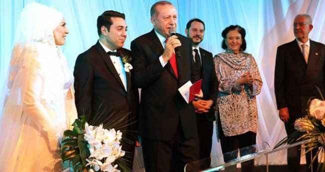 Ünlü sanatçının kızı evlendi, nikah şahidi Erdoğan oldu