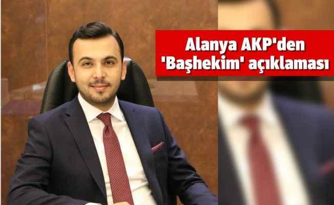 AKP'li Toklu'dan 'Başhekim' açıklaması