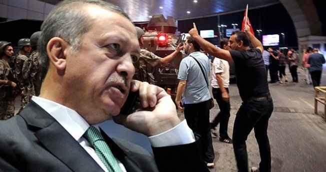 Erdoğan 15 Temmuz gecesi telefonu eline alıp hava trafiğini yönetmiş