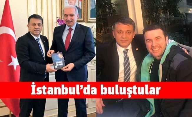 Dim İstanbul'da Alanyalı hemşerilerini ziyaret etti