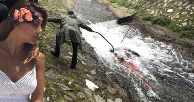 Polis cansız manken sandı, sudan Nuray'ın cesedi çıktı