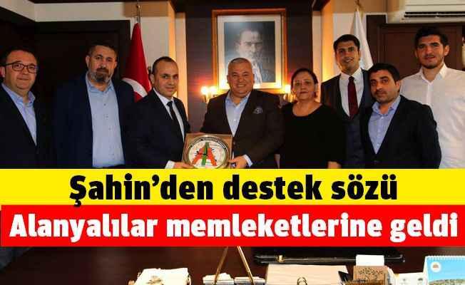 İstanbul Alanyalılar Derneği'nden önemli ziyaretler