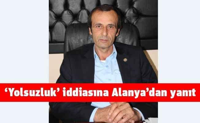 CHP'li Kara'nın yolsuzluk iddialarına Alanya'dan yanıt