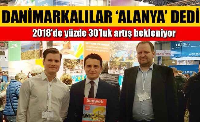 Danimarkalılardan Alanya'ya büyük ilgi
