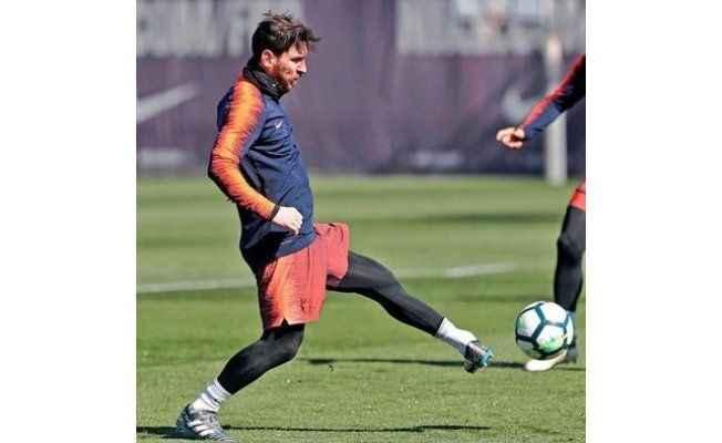 Şoke eden görüntü! Messi uzaylı mı?
