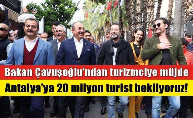 Bakan Çavuşoğlu'ndan turizmciye müjde