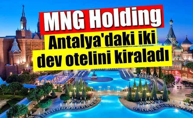 Rusya merkezli Türk tur operatörü Antalya'nın iki dev otelini kiraladı