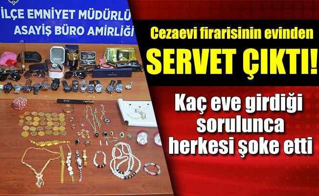 Cezaevi firarisi hırsız Manavgat'ta yakalandı