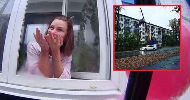 Çılgın sevgilinin doğum günü sürprizi genç kızı şoka uğrattı
