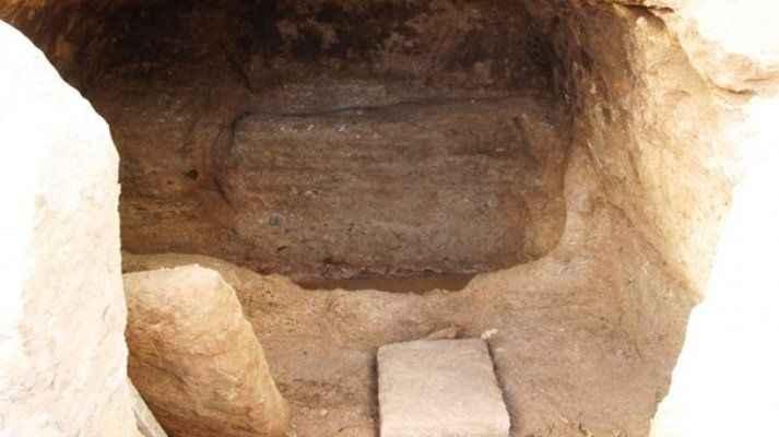 Kaya mezarlarından çıkanlar şok etti