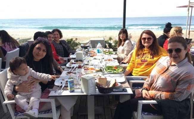 Kadınlar 'Fit kahvaltı' yaptı