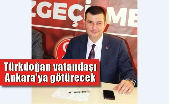 Türkdoğan'dan vatandaşa açık davet