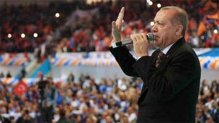 """Erdoğan Diyarbakır'da konuştu! """"Et ile tırnak gibiyiz"""""""