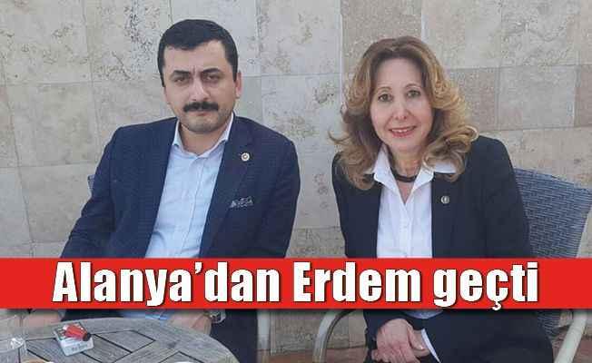 CHP İstanbul Milletvekili Eren Erdem Alanya'daydı